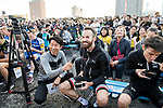 Simon Geschke (GER) Team Sunweb introduced to the crowd before the Tour de France Saitama Crit&eacute;rium 2017 held around the streets os Saitama, Japan. 3rd November 2017.<br /> Picture: ASO/Pauline Ballet | Cyclefile<br /> <br /> <br /> All photos usage must carry mandatory copyright credit (&copy; Cyclefile | ASO/Pauline Ballet)