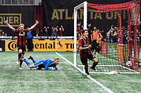 Atlanta, Georgia - Sunday, March 11, 2018. Atlanta United defeated D.C. United, 3-1, in front of an MLS single-game record crowd of 72,035 at Mercedes-Benz Stadium.