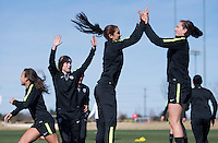 USWNT Training, February 16, 2016