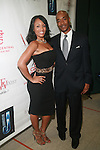 Model Melyssa Ford and Datwon Thomas Attend the 7th Annual African American Literary Awards Held at Melba's Restaurant, NY  9/22/11