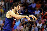 League ACB-ENDESA 2017/2018.<br /> PlayOff-Semifinal-Game: 3<br /> FC Barcelona Lassa vs Kirolbet Baskonia: 67-65.<br /> Ante Tomic.