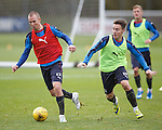 Kenny Miller and Barrie McKay