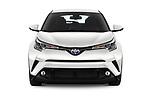 Car photography straight front view of a 2018 Toyota C-HR C-LUB 5 Door SUV