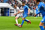10.03.2019, Prezero-Arena, Sinsheim, GER, 1 FBL, TSG 1899 Hoffenheim vs 1. FC Nuernberg, <br /> <br /> DFL REGULATIONS PROHIBIT ANY USE OF PHOTOGRAPHS AS IMAGE SEQUENCES AND/OR QUASI-VIDEO.<br /> <br /> im Bild: Andrej Kramaric (TSG Hoffenheim #27) gegen Hanno Behrens (#18, 1. FC Nuernberg)<br /> <br /> Foto &copy; nordphoto / Fabisch