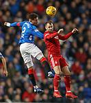 05.12.2018 Rangers v Aberdeen: James Tavernier and Niall McGinn
