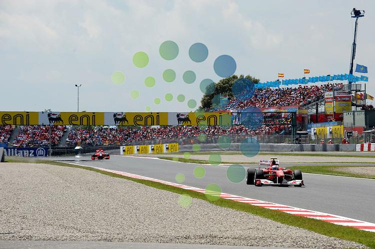 F1 GP of Spain, Barcelona 06.-09. May 2010.Fernando Alonso (ESP),  Scuderia Ferrari ..Hasan Bratic;Koblenzerstr.3;56412 Nentershausen;Tel.:0172-2733357;.hb-press-agency@t-online.de;http://www.uptodate-bildagentur.de;.Veroeffentlichung gem. AGB - Stand 09.2006; Foto ist Honorarpflichtig zzgl. 7% Ust.;Hasan Bratic,Koblenzerstr.3,Postfach 1117,56412 Nentershausen; Steuer-Nr.: 30 807 6032 6;Finanzamt Montabaur;  Nassauische Sparkasse Nentershausen; Konto 828017896, BLZ 510 500 15;SWIFT-BIC: NASS DE 55;IBAN: DE69 5105 0015 0828 0178 96; Belegexemplar erforderlich!..