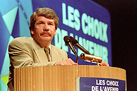 Montreal (qc) CANADA - file Photo - 1992 - <br /> <br /> <br /> 'Union des Municipalites du Quebec convention in April - Jean Dore, Mayor of Montreal