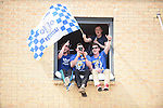 Leicester city fans celebrate before the Barclays Premier League match at the King Power Stadium Leicester. Photo credit should read: Nathan Stirk/Sportimage<br /> <br /> <br /> <br /> <br /> <br /> <br /> <br /> <br /> <br /> <br /> <br /> <br /> <br /> <br /> <br /> <br /> <br /> <br /> <br /> <br /> <br /> <br /> <br /> <br /> <br /> <br /> <br /> <br /> <br /> <br /> <br /> - Newcastle Utd vs Tottenham - St James' Park Stadium - Newcastle Upon Tyne - England - 19th April 2015 - Picture Phil Oldham/Sportimage