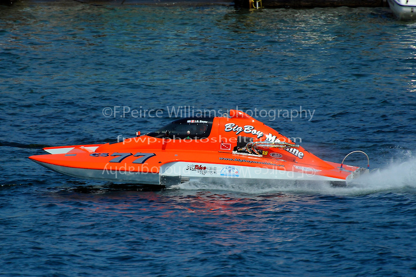 "J. S. Boyer, CS-77 ""Big Boy Machine"" (2.5 Litre Stock hydroplane(s)"
