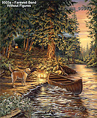 Dona Gelsinger, LANDSCAPES, paintings, USGE9503a,#l# Landschaften, Schiffe, paisajes, barcos, llustrations, pinturas