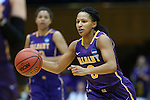 20 March 2015: Albany's Margarita Rosario. The Duke University Blue Devils hosted the University at Albany Great Danes at Cameron Indoor Stadium in Durham, North Carolina in a 2014-15 NCAA Division I Women's Basketball Tournament first round game.