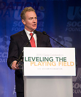 Chris Van Hollen.  The 2010 US Soccer Foundation Gala was held at City Center in Washington, DC.