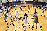 SAN ANTONIO, TX - JANUARY 12, 2019: The University of Texas at San Antonio Roadrunners defeat the University of North Texas Mean Green 76-74 at the UTSA Convocation Center. (Photo by Jeff Huehn)