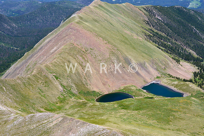 Venable Lakes, Sangre de Cristo Range, Colorado.  July 13, 2013.  89871