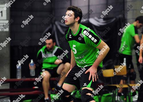 2014-11-29 / Volleybal / seizoen 2014-2015 / Mendo Booischot / Wout Van Dyck<br /><br />Foto: mpics.be