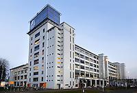 Klokgebouw  op Strijp-S in Eindhoven