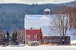 The Robinson Farm in Woodstock, VT, USA