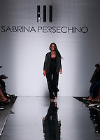 La stilista Sabrina Persechino sulla passerella dopo la presentazione della sua collezione Autunno Inverno 2014/2015 durante la rassegna Altaroma, a Roma, 14 luglio 2014.<br /> Italian fashion designer Sabrina Persechino on the catwalk after presenting her Fall Winter 2014/2015 collection at the Altaroma fashion week in Rome, 14 July 2014.<br /> UPDATE IMAGES PRESS/Isabella Bonotto