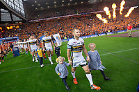 Picture by Alex Whitehead/SWpix.com - 07/10/2017 - Rugby League - Betfred Super League Grand Final - Castleford Tigers v Leeds Rhinos - Old Trafford, Manchester, England - Leeds' Rob Burrow walks out before his final game.