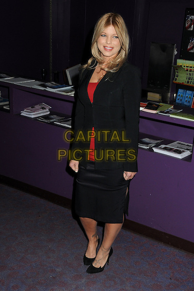 "DONNA D'ERICO.""The Making of Plus One"" Special Screening held at The Laemmle Monica 4-Plex, Santa Monica, California, USA, 2nd February 2011..full length skirt shoes   black jacket red top .CAP/ADM/BP.©Byron Purvis/AdMedia/Capital Pictures."
