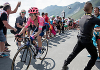 RIgoberto Uran (COL/EF Education First) up the Tourmalet (HC/2115m/19km @7.4%)<br /> <br /> Stage 14: Tarbes to Tourmalet (117km)<br /> 106th Tour de France 2019 (2.UWT)<br /> <br /> ©kramon