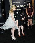 Abigail Breslin arriving at the New Year's Eve premiere, held at Grauman's Chinese theater December 5, 2011.