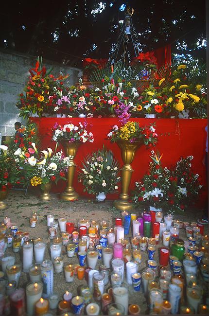 Candles, Oaxaca City, Oaxaca, Mexico