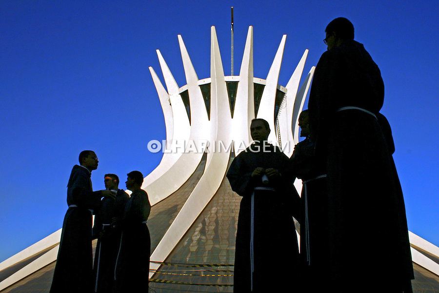 Catedral Metropolitana de Brasilia. Distrito Federal. 2008. Foto de Idemar Jose.