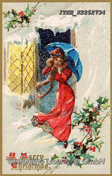 Isabella, CHRISTMAS SANTA, SNOWMAN, WEIHNACHTSMÄNNER, SCHNEEMÄNNER, PAPÁ NOEL, MUÑECOS DE NIEVE, nostalgic, paintings+++++,ITKEK2252734,#X#