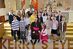 CONFIRMATION: Photographed at the Confirmation in The Church Of The Immaculate Conception, Glin on Friday were the children of Glin National School with Bishop Murphy. Danielle Wallace, Grace Meade, Katie Wallace, Gerard Riordan, Emma Shine, Elena Costello, Laura Mullally, Ann Marie Sheahan, Dawid Wrobel, Kinga Cholewka, Natalia Czerska, Stephen Barrett, Jane O'Sullivan, Teresa Kenrick, Ann Marie O'Rourke, Laura Hanlon, Katie Fitzgerald, Kinga Wrobel, Pauline Ringquist, Gearoid Murphy, Laura Dore and Karol Landziak.   Copyright Kerry's Eye 2008