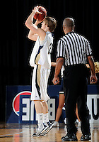 Florida International University guard Tanner Wozniak (23) plays against Bowling Green State University, which won the game 61-53 on December 22, 2011 at Miami, Florida. .
