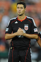 DC United midfielder Branko Boskovic (27)   FC Dallas defeated DC United 3-1 at RFK Stadium, Saturday August 14, 2010.