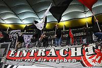 Eintracht Fans - 03.11.2017: Eintracht Frankfurt vs. SV Werder Bremen, Commerzbank Arena