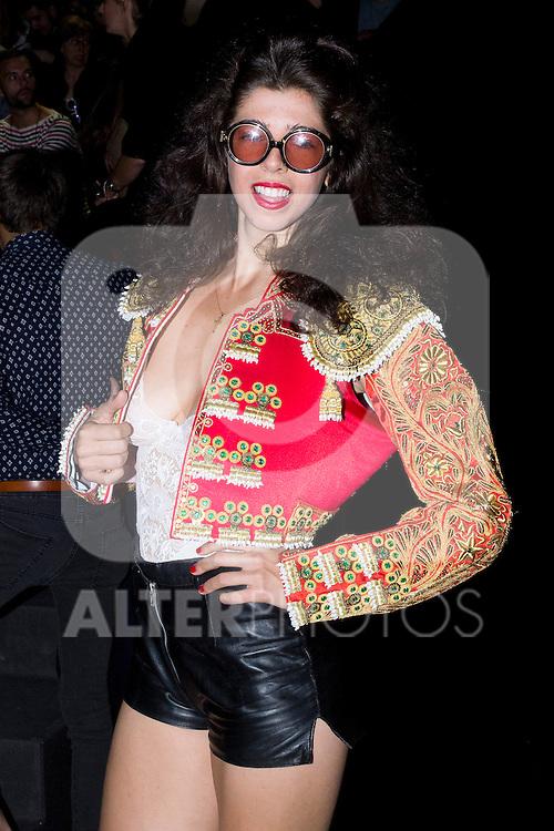 01.09.2012. Celebrities attending the David Delfin fashion show during the Mercedes-Benz Fashion Week Madrid Spring/Summer 2013 at Ifema. (Alterphotos/Marta Gonzalez)