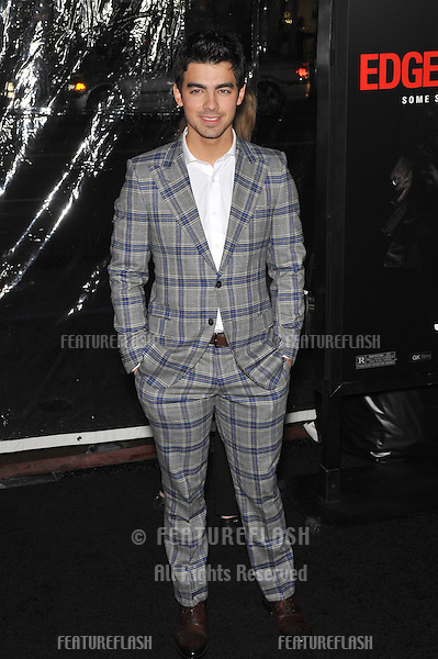 "Joe Jonas - of The Jonas Brothers - at the Los Angeles premiere of ""Edge of Darkness"" at Grauman's Chinese Theatre, Hollywood..January 26, 2010  Los Angeles, CA.Picture: Paul Smith / Featureflash"
