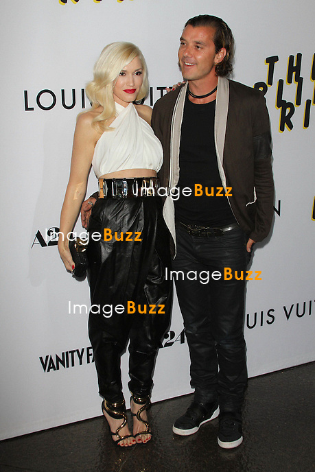 "Gwen Stefani & Gavin Rossdale attend the "" The Bling Ring "" Movie Premiere in Los Angeles, June 4, 2013."