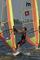 20th SPA Regatta - Medemblik.26-30 May 2004..Copyright free image for editorial use. Please credit Peter Bentley..Adrien Galliard - FRA