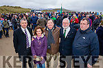Pa Daly, Geraldine Nolan, Eddie Barrett, Martin Ferris, Seamus McGrath (Cabra Historical Society) who attended the 1916 launch of events and parade on Saturday afternoon last.