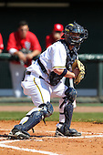 Coley Crank #3 of the Michigan Wolverines during the Big East-Big Ten Challenge vs. the St. John's Red Storm at Al Lang Field in St. Petersburg, Florida;  February 19, 2011.  St. John's defeated Michigan 13-6.  Photo By Mike Janes/Four Seam Images