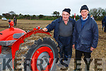 At the Abbeydorney Ploughing Match on Sunday were Michael Brosnan and Peter Donlevy