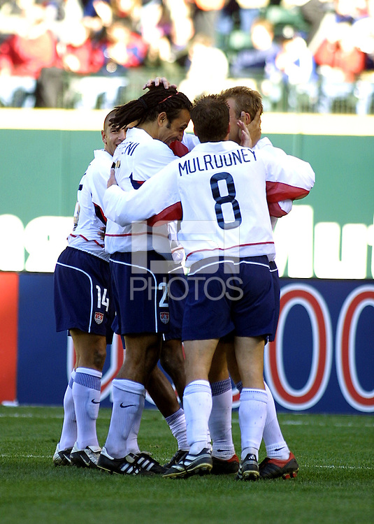 USA Men's team, Honduras vs USA, 2002.
