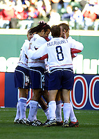 USA Men's team, Honduras vs USA, 2002.