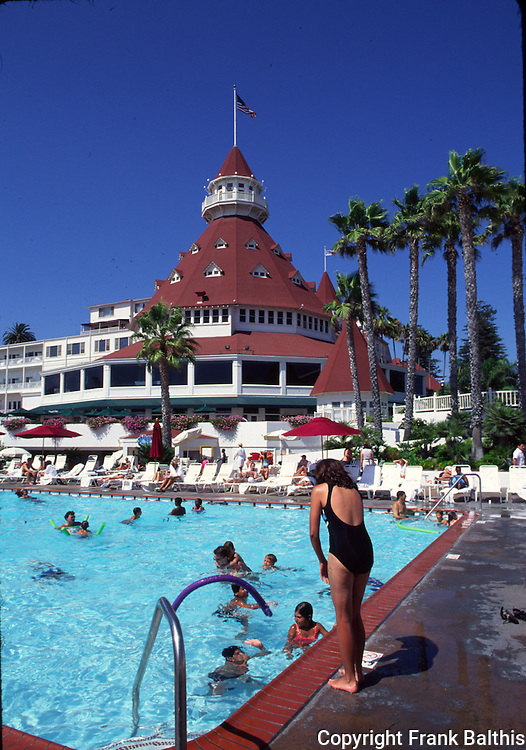 Pool at Coronado Hotel
