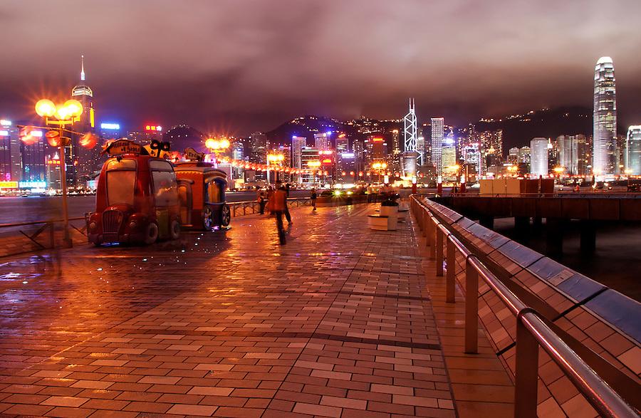 Avenue of the Stars, Tsim Sha Tsui Promenade, Kowloon waterfront, Hong Kong SAR, China, Asia