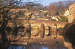 A1X1GA Bradford on Avon bridge Wiltshire England