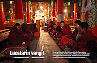 8 pages in weekly magazine Suomen Kuvalehti (Finland), on April 4, 2008. Photo by Lucas Schifres/Pictobank