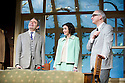 Quartermaine's Terms by Simon Gray, directed by Richard Eyre. With Rowan Atkinson as St John Quartermaine, Louise Ford as Anita Manchip, Matthew Cottle as Mark Sackling. Opens at Wyndams Theatre  on 29/1/13. CREDIT Geraint Lewis