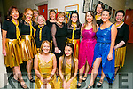 Cast members at the Churchill Players Variety Show in Siamsa Tire on Sunday were l-r  Aileen Hill, Chantelle Sullivan, Deirdre O'Brien, Susan Brown, Aine Quinn, Liz Brown, Breda Green, Veronica Kelly, Mary Joe Daly , Linda Brown, Lillian Broderick, Triona Daly and Liz Barry.