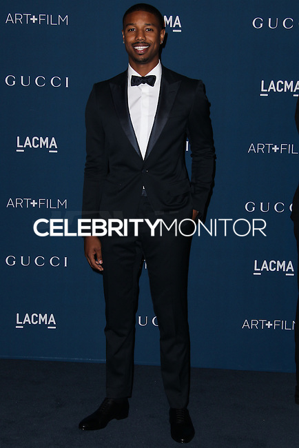 LOS ANGELES, CA - NOVEMBER 02: Michael B. Jordan at LACMA 2013 Art + Film Gala held at LACMA on November 2, 2013 in Los Angeles, California. (Photo by Xavier Collin/Celebrity Monitor)