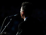 Lyle Lovett & His Large Band play to huge crowd at the Hardy Strickly Bluegrass Festival in Golden Gate Park, San Francisco California.